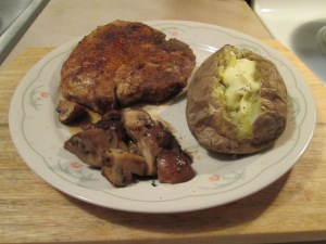 Cumin Spiced Pork Chops Mushrooms 007