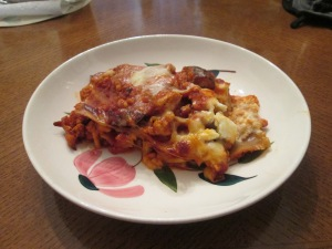 Healthy Harvest Turkey Lasagna 015