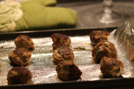 turkey ricotta meatballs | as GOLD as it gets blog