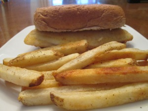 Seasoned Tilapia Baked Fries 008