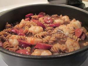 Shrimp and Andouille Sausage Gumbo 003