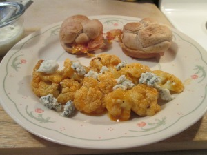 Turkey and Bacon Sandwich Buffalo Cauliflower 007