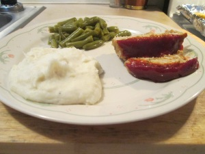 Turkey Meatloaf Mashed Potatoes 009