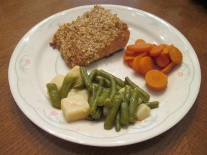 Walnut Crusted Salmon 007
