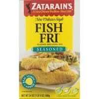Zatarain's Seasoned Fish Fri