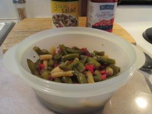 Catfish Nuggets Cool Bean Salad 003