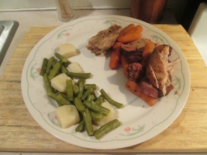 Chicken Thigh and Sausage 004