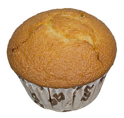 Cornbread, prepared as a muffin