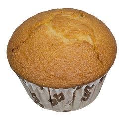 Cornbread, prepared as a muffin