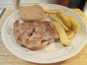 Cubed Pork Steak Sandwich 003