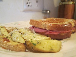 Grilled Pastrami Sandwich 002
