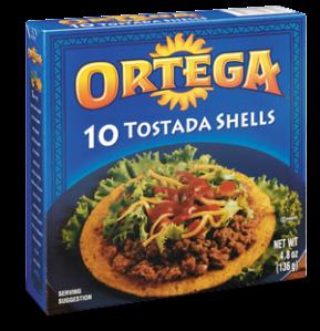 Ortega Tostada Shells