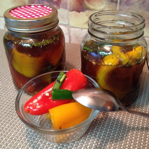 Pickled Mini Sweet Peppers
