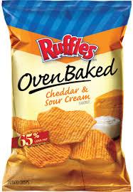 Ruffles Baked Cheddar