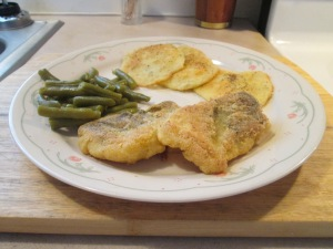 Seasoned Haddock Potato Pancakes 005