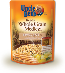 UNCLE BEN'S® WHOLE GRAIN MEDLEY™ Brown & Wild