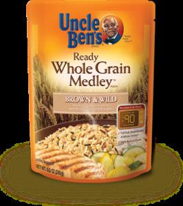 UNCLE BEN'S® WHOLE GRAIN MEDLEY™ Brown & Wild