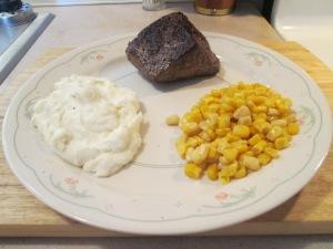 Buffalo 8 oz Top Srloin Mashed Potatoes 005