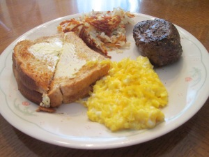 Buffalo Top Sirloin Cheesy Scrambled Eggs 011