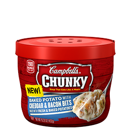 Campbells Chunky Potato Soup My Meals are on Wheels