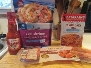 Shrimp and Smoked Turkey Sausage Jambalaya 002