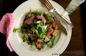 Bresaola, Manchego & Pear Salad