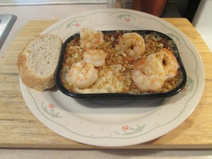 Cajun Shrimp w Garlic Parmesan Mac & Cheese 005
