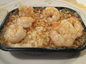 Cajun Shrimp w Garlic Parmesan Mac & Cheese 009