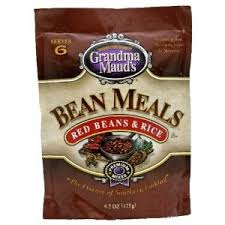Gramdma Maud's Bean Meals Red Beans and Rice