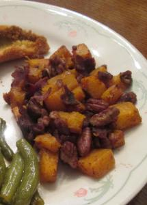 Maple Bacon Pecan Roasted Butternut Squash2
