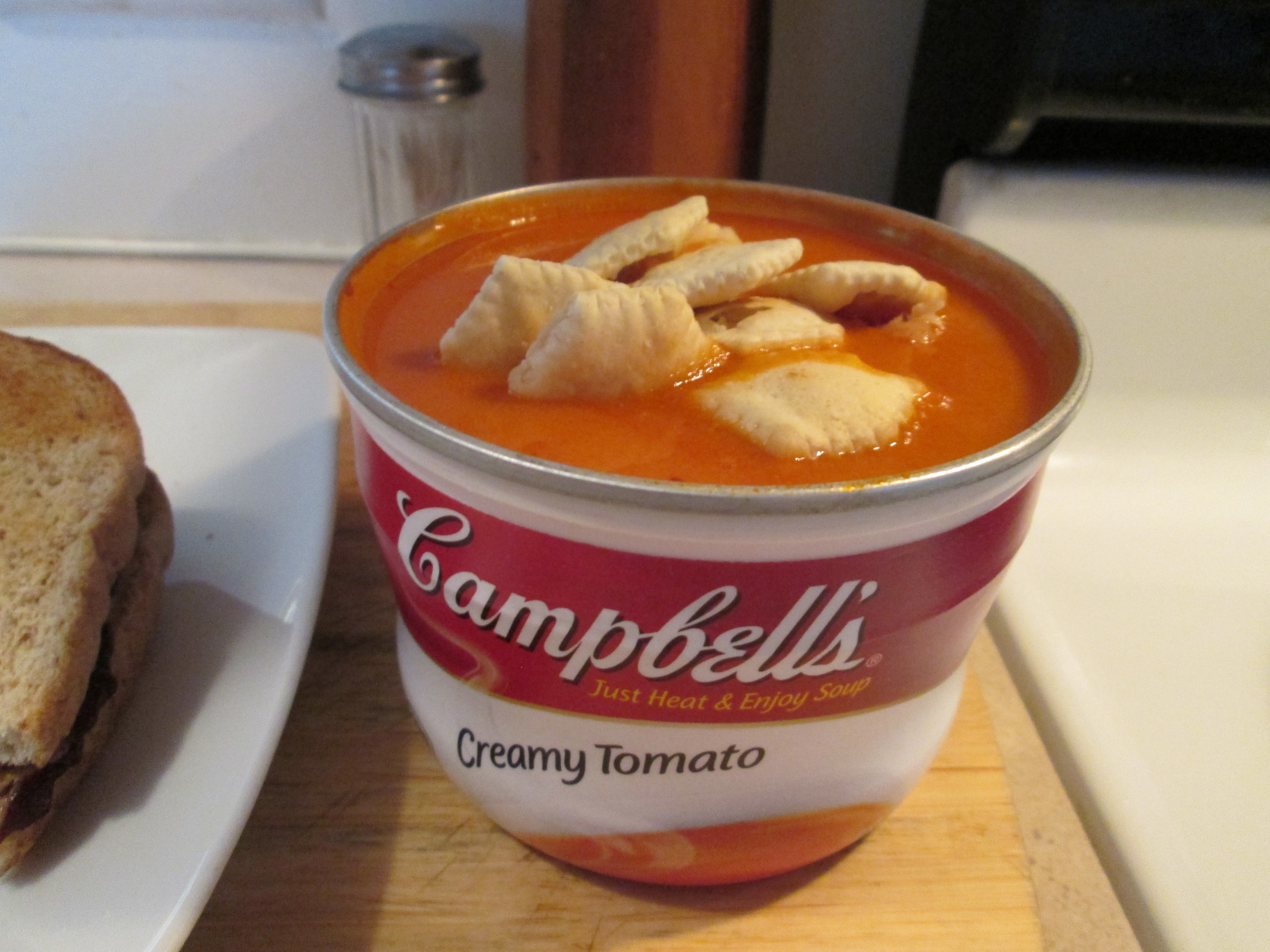 Campbells Creamy Tomato Soup My Meals are on Wheels