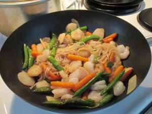Shrimp and Vegetable Stir Fry 003
