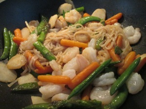 Shrimp and Vegetable Stir Fry 004