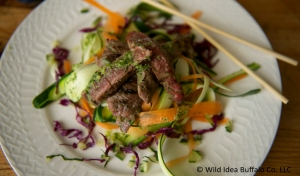Vietnamese Bison Steak Salad