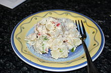 Northern German potato salad