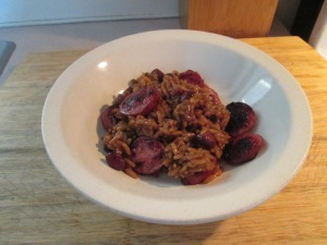 Red Beans and Rice Smoked Turkey Sausage 005