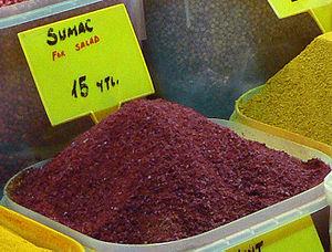 Sumac spice