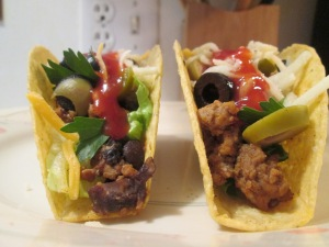 Turkey and Black Bean Tacos 003