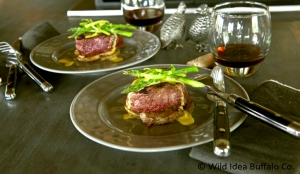 Grilled Steak Tournedos with Sauce Béarnaise
