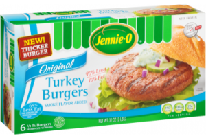 Jennie - O - 1 3 lb. Turkey Burgers