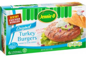 Jennie - O - 1 3 lb. Turkey Burgers