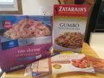 Shrimp and Smoked Turkey Sausage Gumbo  w Cornbread Ears002