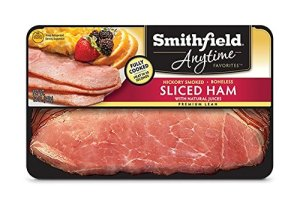 Smithfield Anytime Hickory Smoked Boneless Sliced Ham