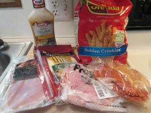 Baked Italian Hoagie w Baked Crinkle Fries 001