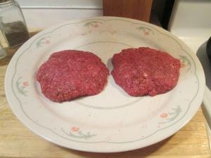 Buffaloed Buffalo Burger w Baked Potato 001