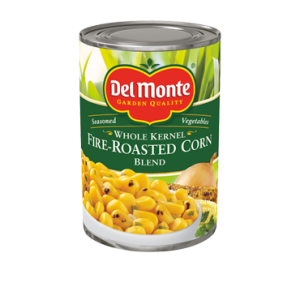 Del Monte Whole Kernel Fire Roasted Corn Blend