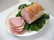 Ham is a popular way to prepare pork