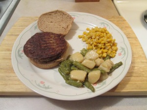 Quorn Meatless Gourmet Burger 008