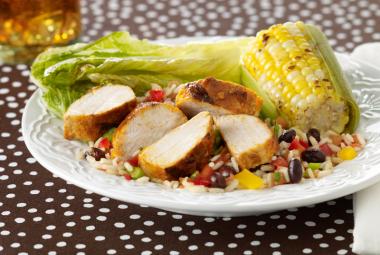 Southwestern Turkey Rice Salad