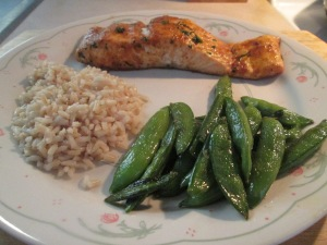 Thai Chili Seasoned Baked Salmon 008